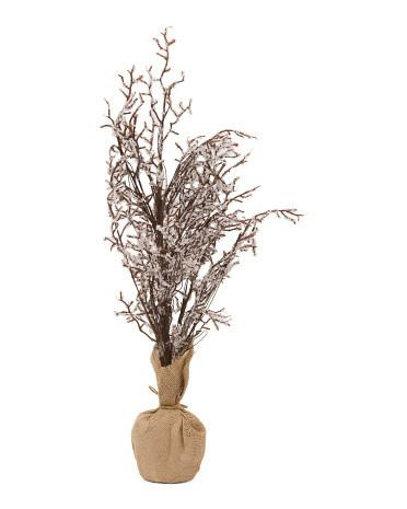 Holiday Home Tree on Burlap Bag Base-GoGetGlam