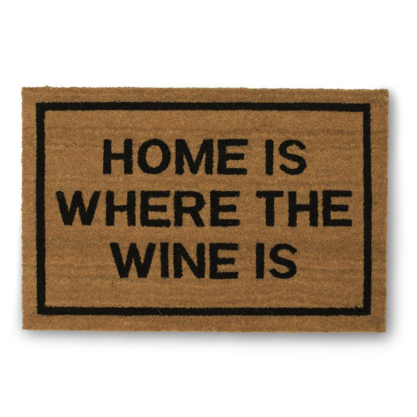 Home Is Where The Wine Is Doormat - GoGetGlam Boho Style