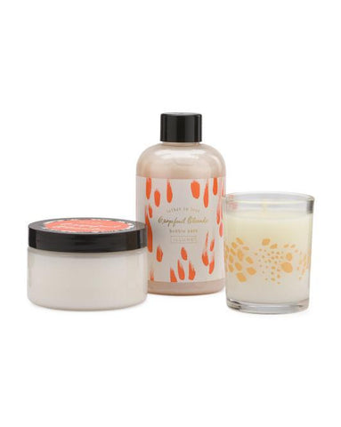 ILLUME 3pc Oleander Candle Spa Luxe Gift Set-GoGetGlam