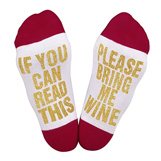If You Can Read This Gift Socks - Boho Bohemian Decor