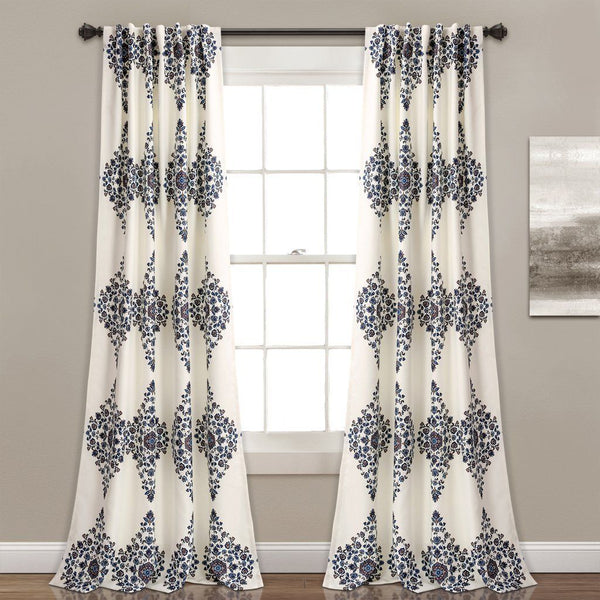 Keilia Boho Medallion Room Darkening Curtains-GoGetGlam