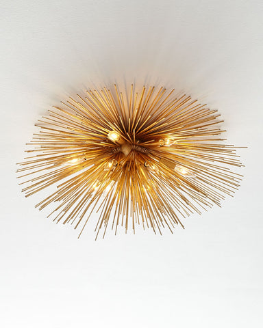 Kelly Wearstler Strada Flush-Mount Ceiling Light-GoGetGlam