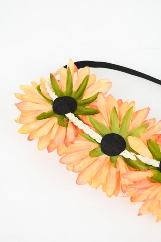 Large Daisy Boho Crown Headband in Multiple Colors-GoGetGlam