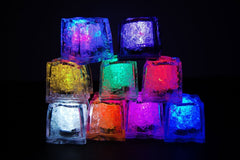LED Color Changing Glow In The Dark Light Ice Cubes-GoGetGlam