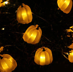 LED Tall Pumpkin String Lights-GoGetGlam