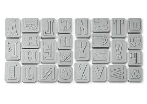 Letters & Numbers Cookie Cutter Stamp Sets - GoGetGlam Boho Style