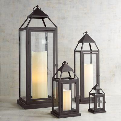 Light The Way Glass Lanterns - GoGetGlam Boho Style