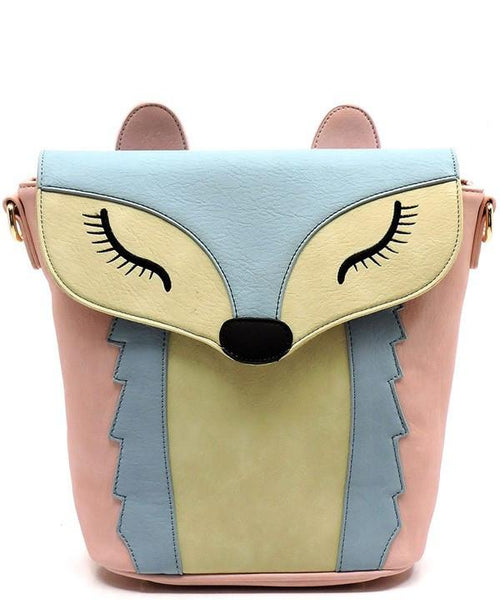 Like A Fox Crossbody Handbag-GoGetGlam