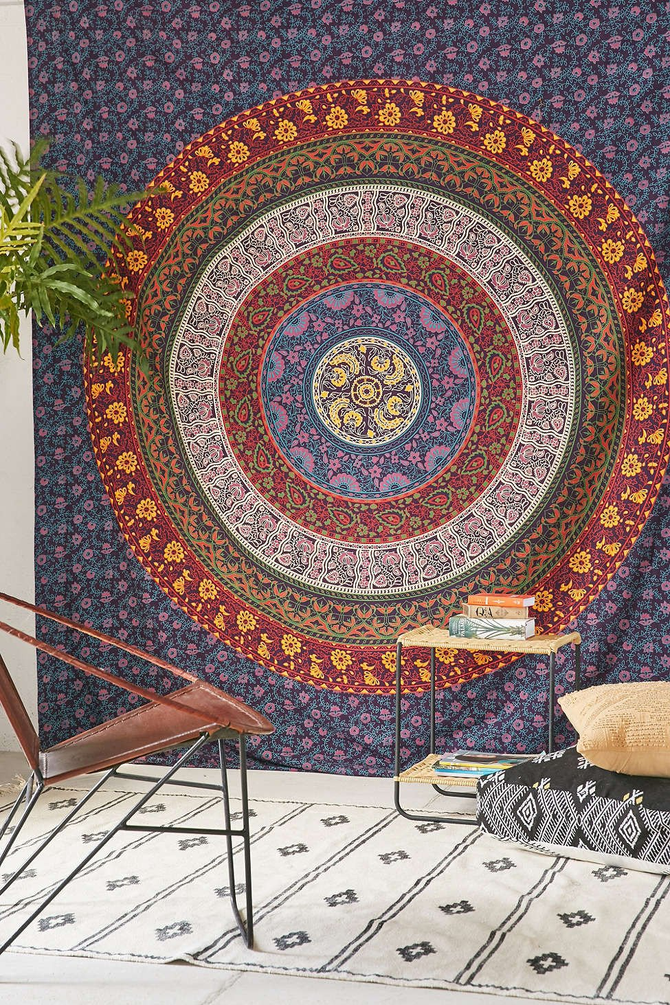 Magical Thinking Large Hippie Tapestry Mandala Bohemian Bedspread Throw - GoGetGlam Boho Style