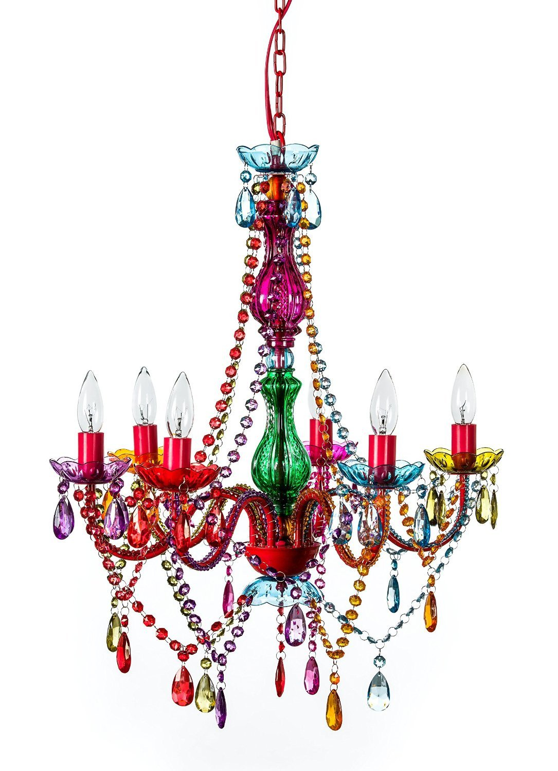 Mallori multi color acrylic crystal boho gypsy chandelier in 3 sizes mallori multi color acrylic crystal boho gypsy chandelier in 3 sizes gogetglam arubaitofo Image collections
