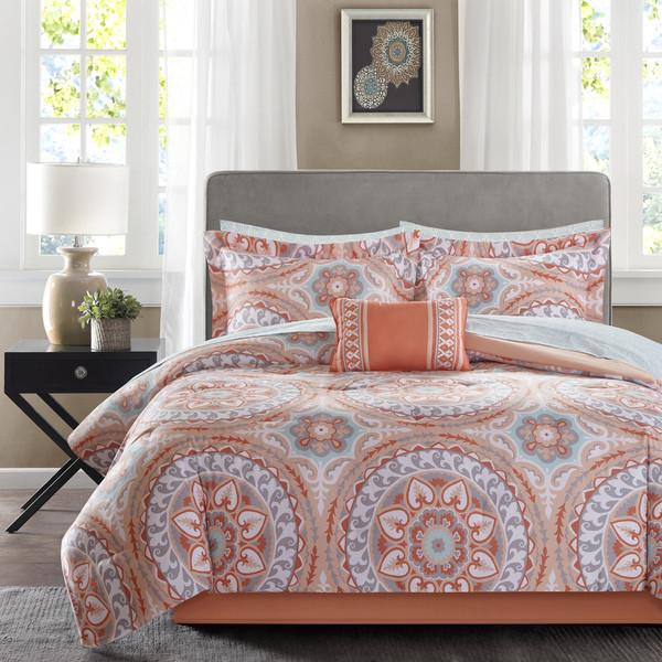 set images comforter coral beautiful pinterest best expressions ideas on addyson pc sets home bedding accessories bedroom