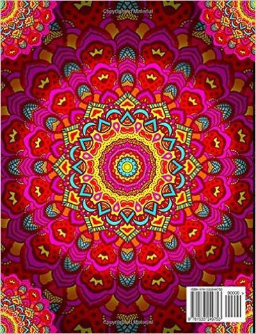 Mandalas At Midnight A Relaxing Boho Adult Coloring Book-GoGetGlam