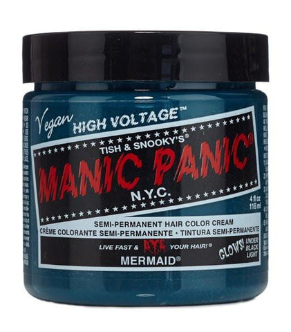 Manic Panic Glow In The Dark Semi Permanent Hair Color in Mermaid - Boho Bohemian Decor