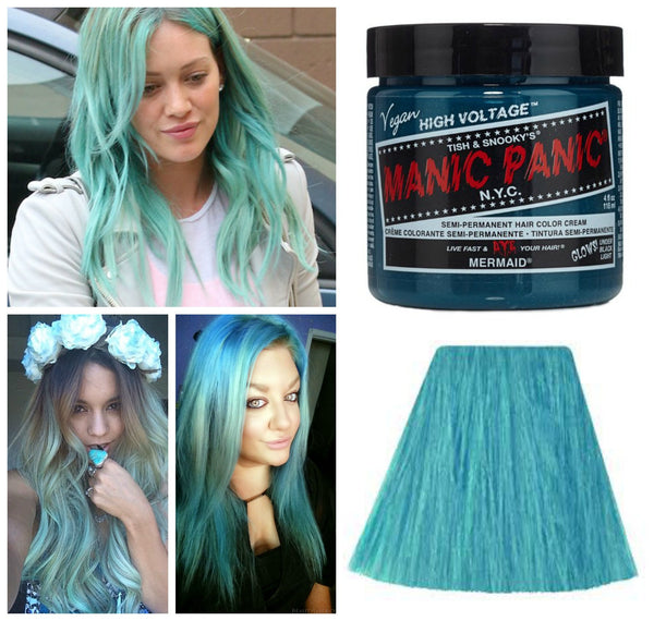 Manic Panic Glow In The Dark Semi Permanent Hair Color in Mermaid-GoGetGlam