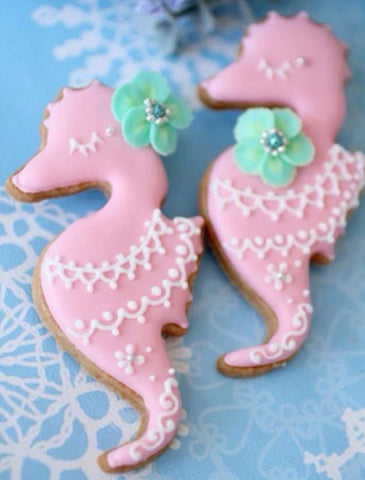 Mermaid and Sea Friends Cookie Cutter Set - Boho Bohemian Decor