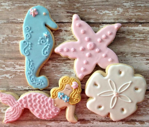 Mermaid and Sea Friends Cookie Cutter Set-GoGetGlam