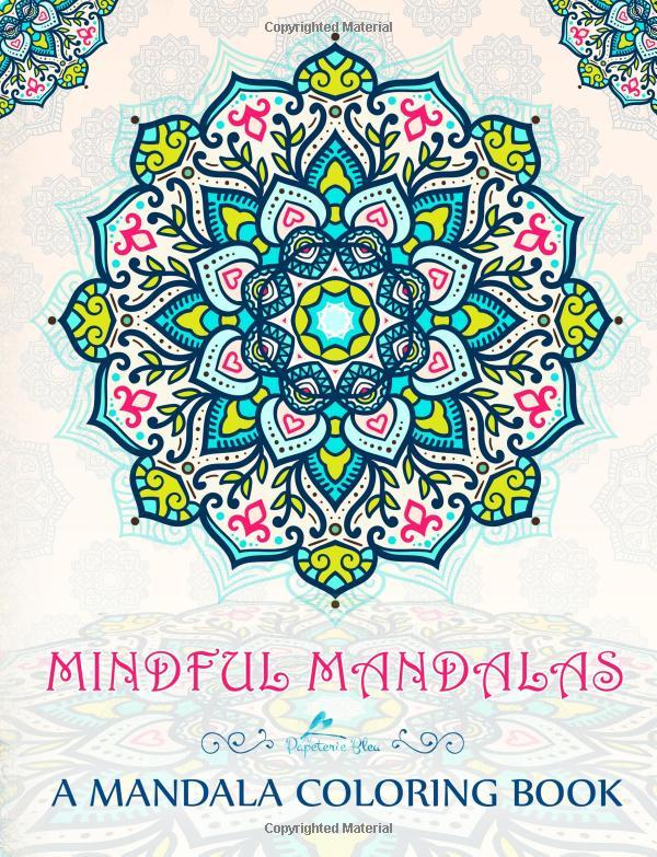 Mindful Mandalas: A Mandalas & Mindfulness Adult Stress Relief ...