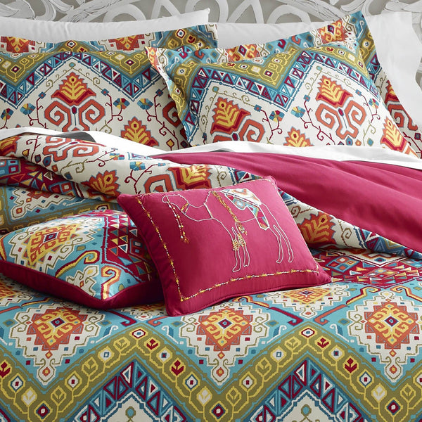 Moroccan Nights Boho Comforter Bed Set-GoGetGlam
