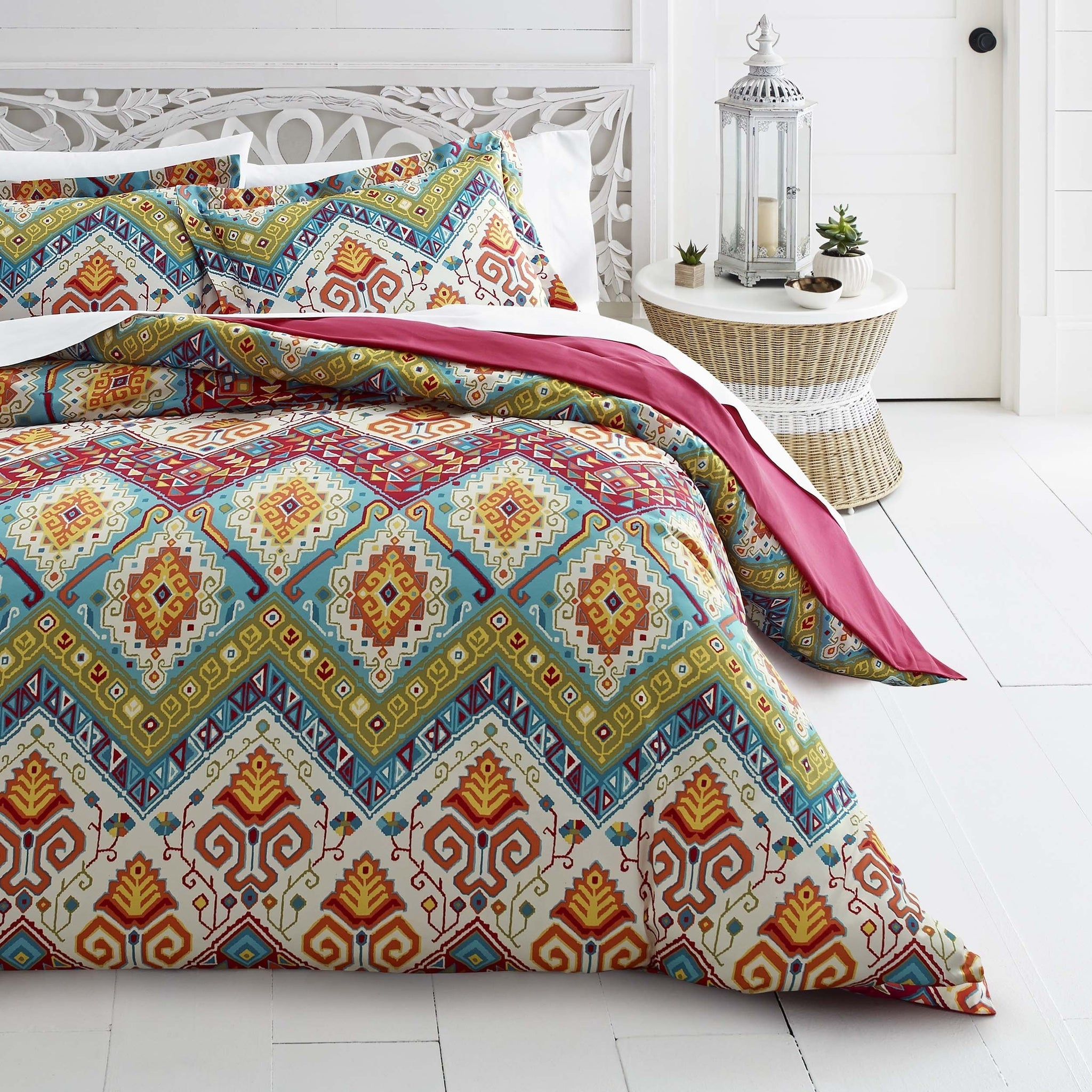 cover set comforter boho cotton king hp indian mandala bedding covers quilt decor size duvet doona