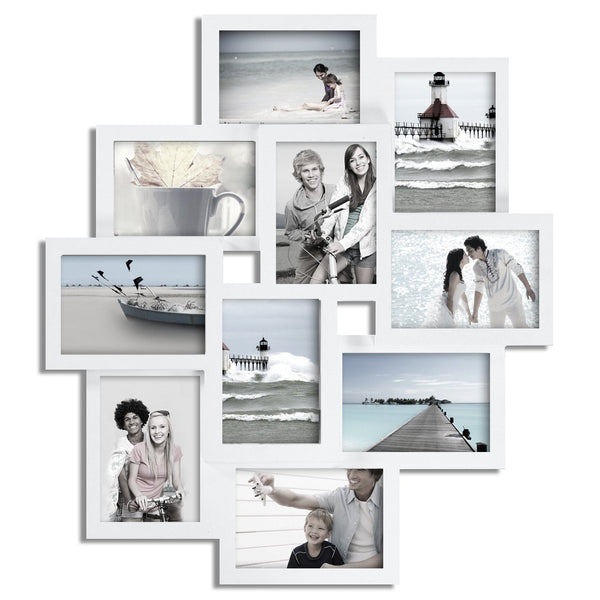 Multi Photo Display Collage Wall Frame - GoGetGlam Boho Style