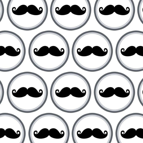 Mustache Funny Gift Wrapping Paper-GoGetGlam