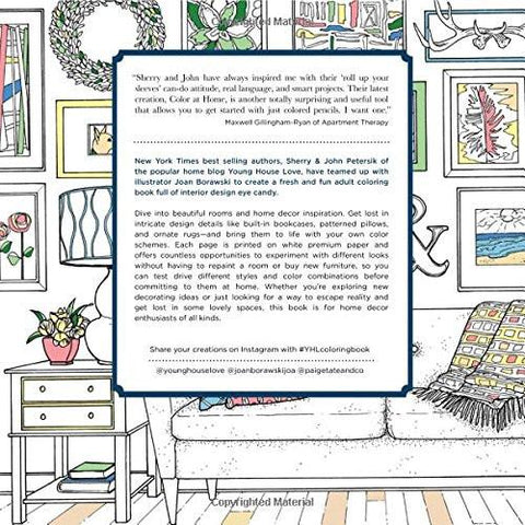My Brand New Home Coloring Book for Adults - GoGetGlam Boho Style