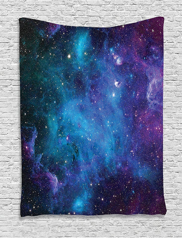 Night Star Galaxy Space Wall Tapestry-GoGetGlam