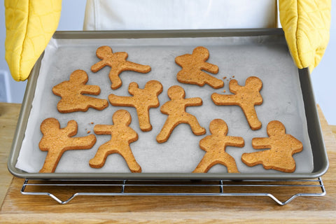 NINJABREAD MEN Cookie Cutters, Set of 3-GoGetGlam