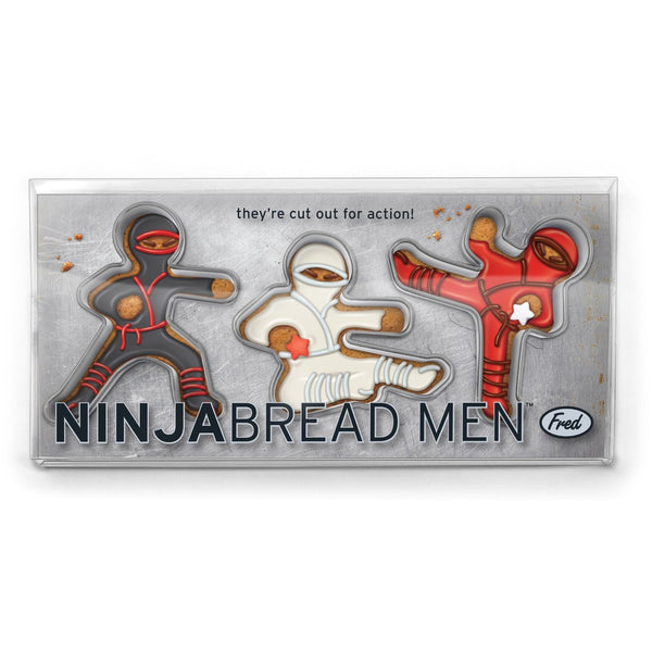 NINJABREAD MEN Cookie Cutters, Set of 3 - Boho Bohemian Decor