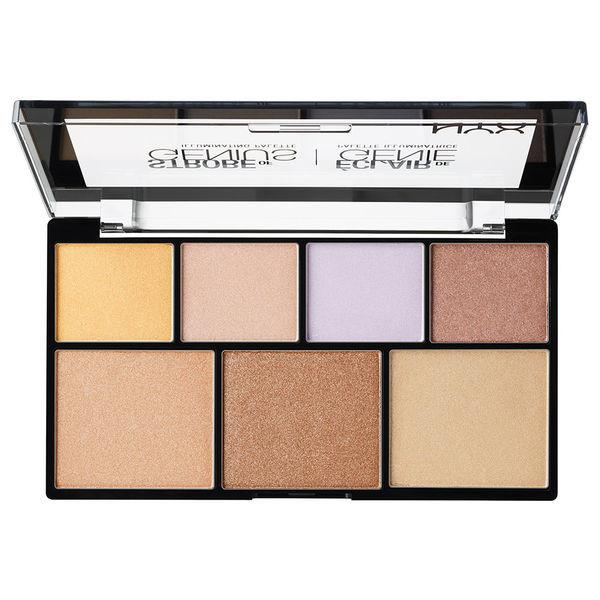NYX STROBE OF GENIUS ILLUMINATING HIGHLIGHTING PALETTE-GoGetGlam