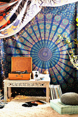 Odette Bohemian Blue Wall Tapestry-GoGetGlam
