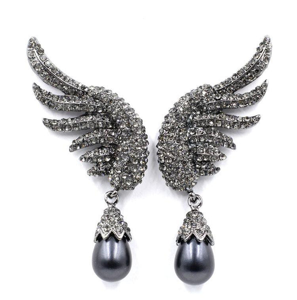 On A Wing & A Prayer Earrings-GoGetGlam