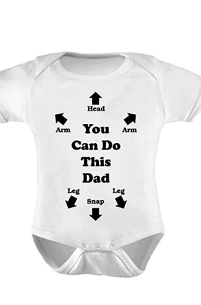 You Can Do This Dad Baby Onesie-GoGetGlam