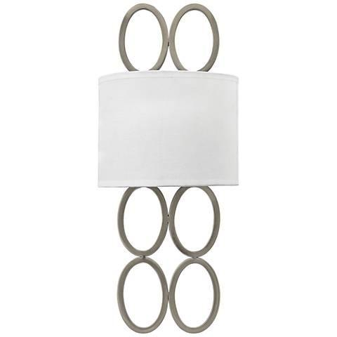 Oval Rings Silver or Gold Wall Sconce - GoGetGlam Boho Style