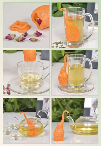 Pack of 2 Elephant Tea Strainers-GoGetGlam