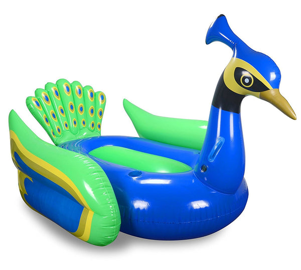 Peacock Inflatable Premium Quality Giant Size Pool Float - GoGetGlam Boho Style
