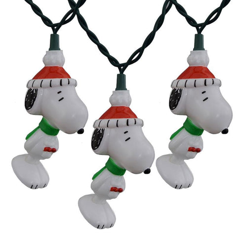 Peanuts Snoopy Set of 10 String Lights-GoGetGlam