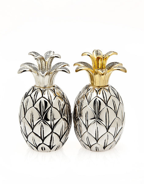 Pineapple Salt & Pepper Shaker SET - Boho Bohemian Decor