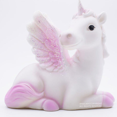 Pink or Purple Unicorn 6 Color LED Kids Nightlight Glow Lamp - Boho Bohemian Decor