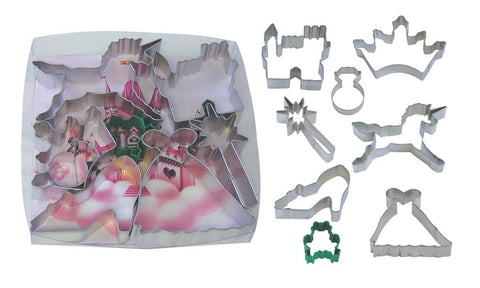 Princess Unicorn Castle Cookie Cutter Set-GoGetGlam