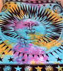 Psychedelic Sun Hippie Tapestry Tie Dye - GoGetGlam Boho Style