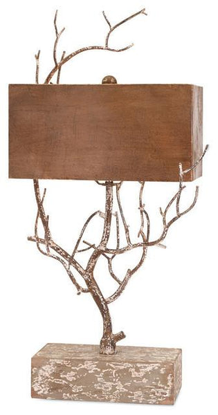 Reaching Branches Table Lamp - Boho Bohemian Decor