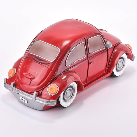 Red VW Beetle Car Glow Night Light Lamp - Boho Bohemian Decor
