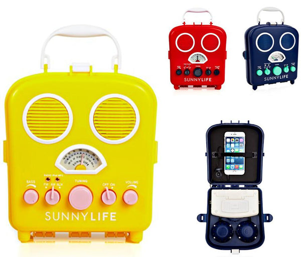 Retro Vintage Vibe Portable Music Radio in 3 Colors - GoGetGlam Boho Style
