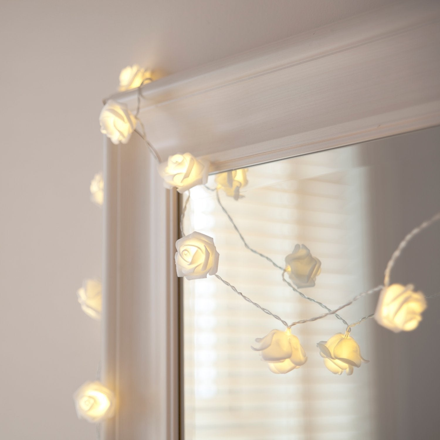 Roses Rosebud Fairy Boho LED String Lights-GoGetGlam