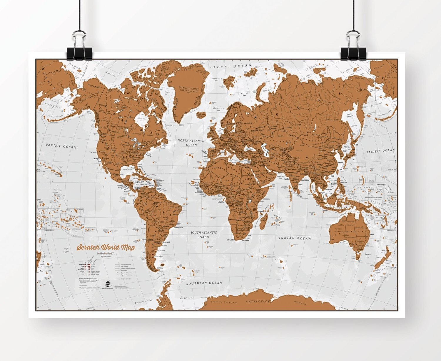 Scratch world map scratch off places you travel scratch world map scratch off places you travel gogetglam gumiabroncs Gallery