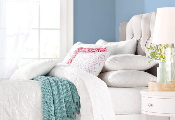 CoCo Luxury Pintuck 5PC Comforter Set-GoGetGlam