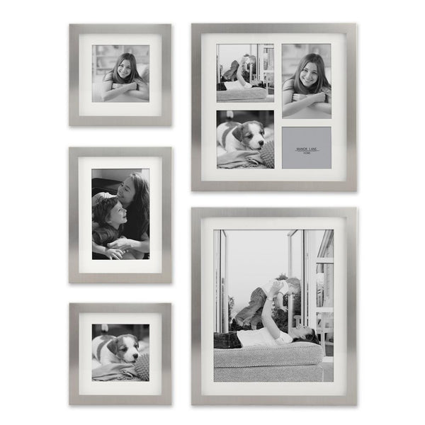 Set of 5 Metal Photo Shadow Box Frames - GoGetGlam Boho Style