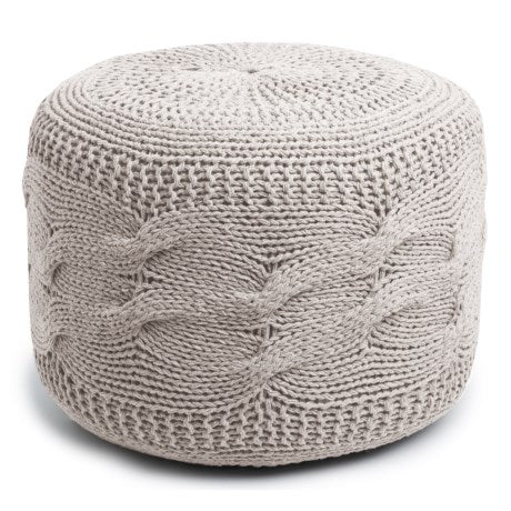 modern make beautiful ottoman for different of pillow living crochet in poufs and knit colorful ideas various pouf home color knitted room pi how furniture to floor