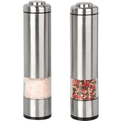 Sleek LED Stainless Salt & Pepper Shaker SET - GoGetGlam Boho Style